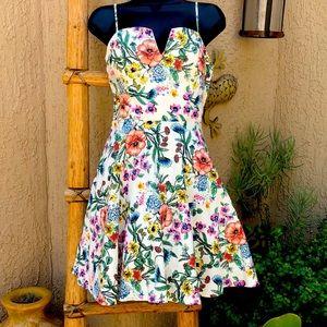 *Trixxi* Floral Sun Dress Size 9